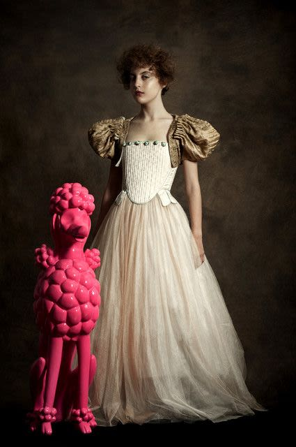 Romina Ressia, Portrait of a Woman with Her Dog