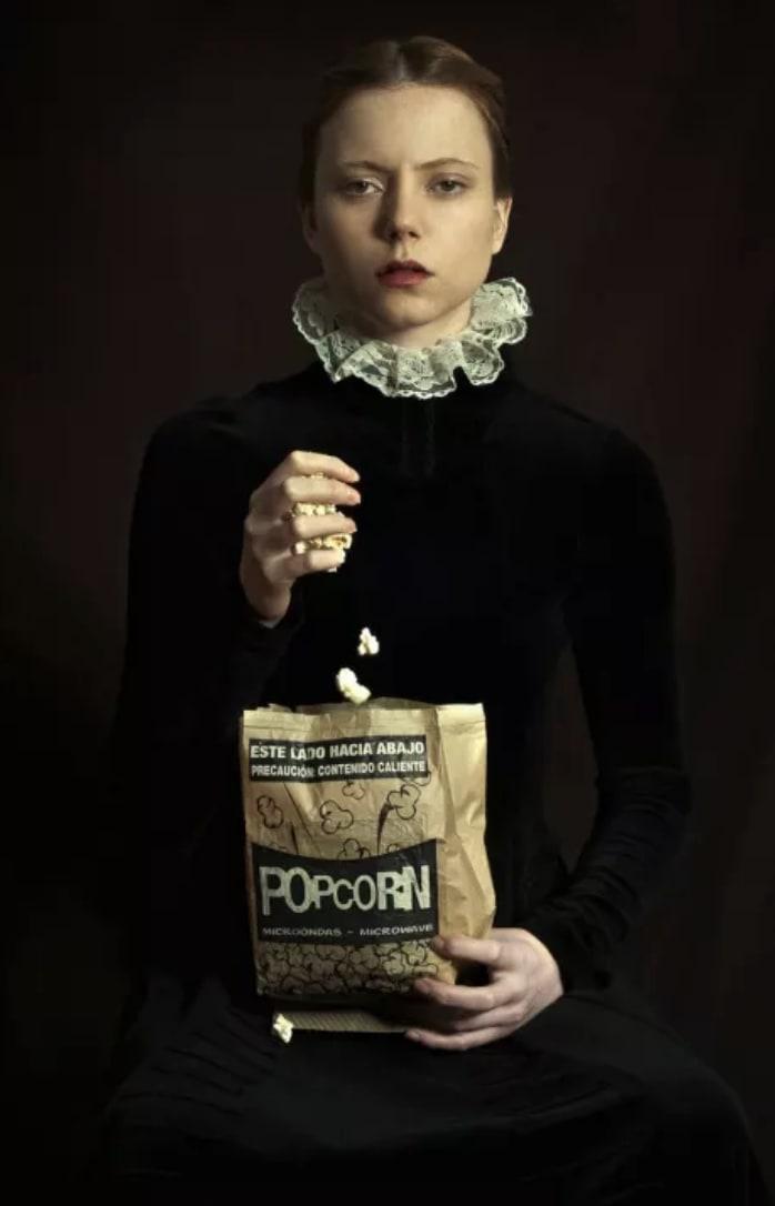 Romina Ressia, Pop Corn , 2018