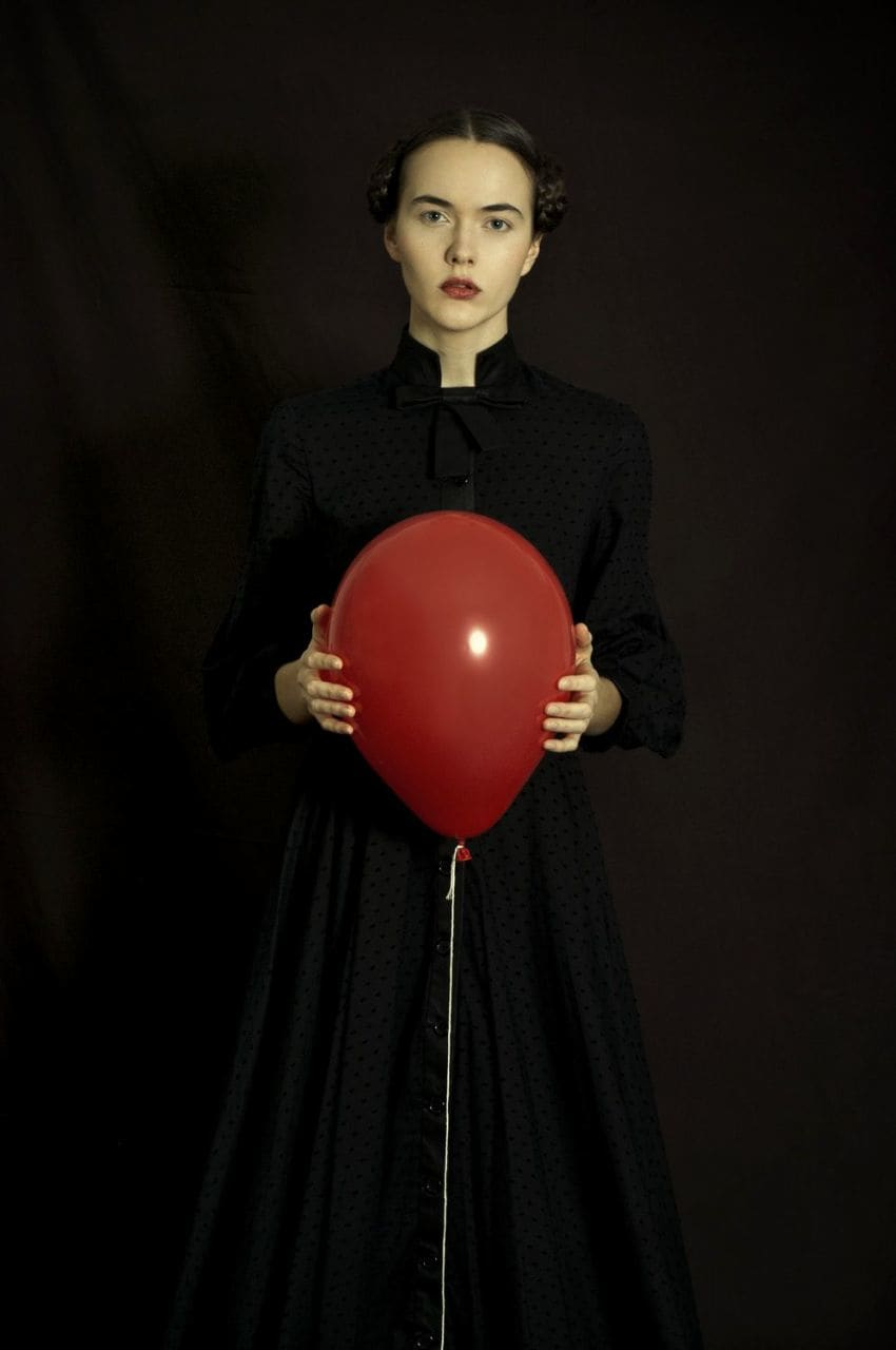 Romina Ressia, Red Balloon, 2018
