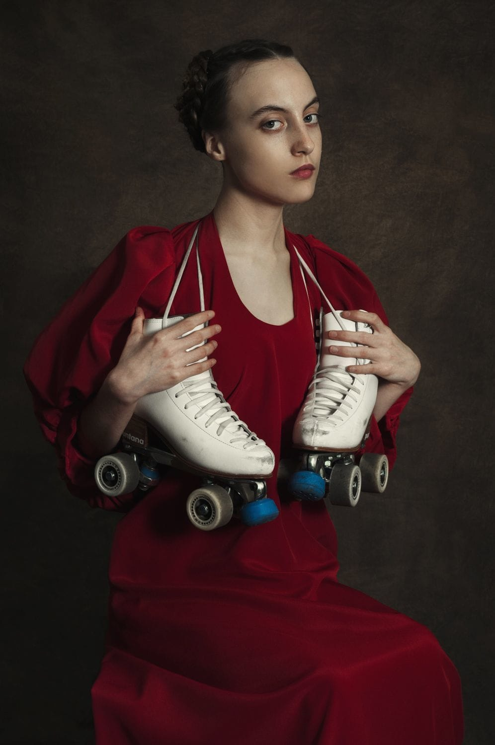Romina Ressia, Woman with Rollers