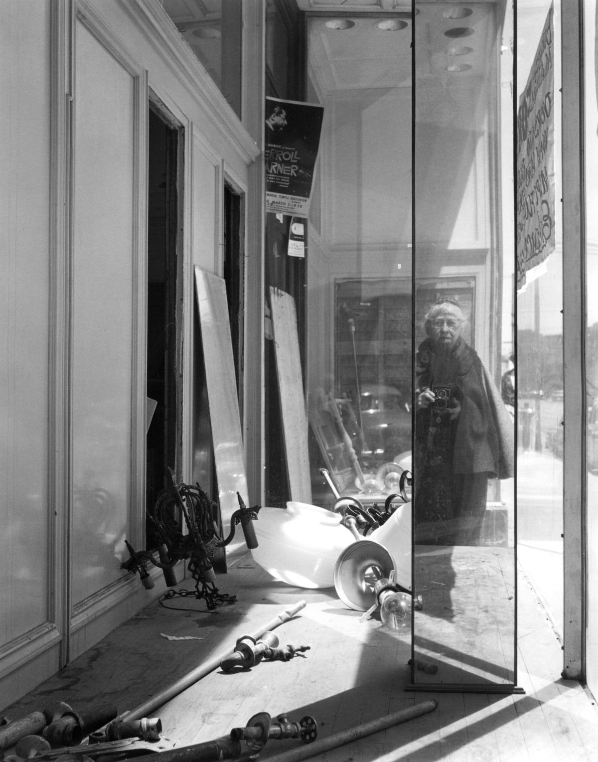 Self-Portrait on Geary Street, 1958