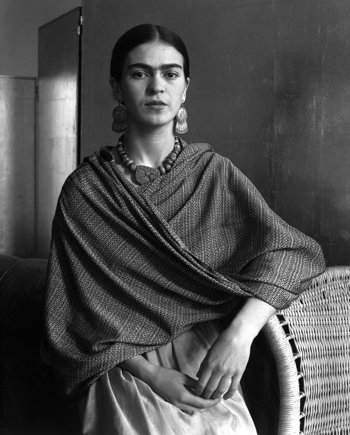 Frida Kahlo Rivera, Painter and Wife of Diego Rivera, 1931