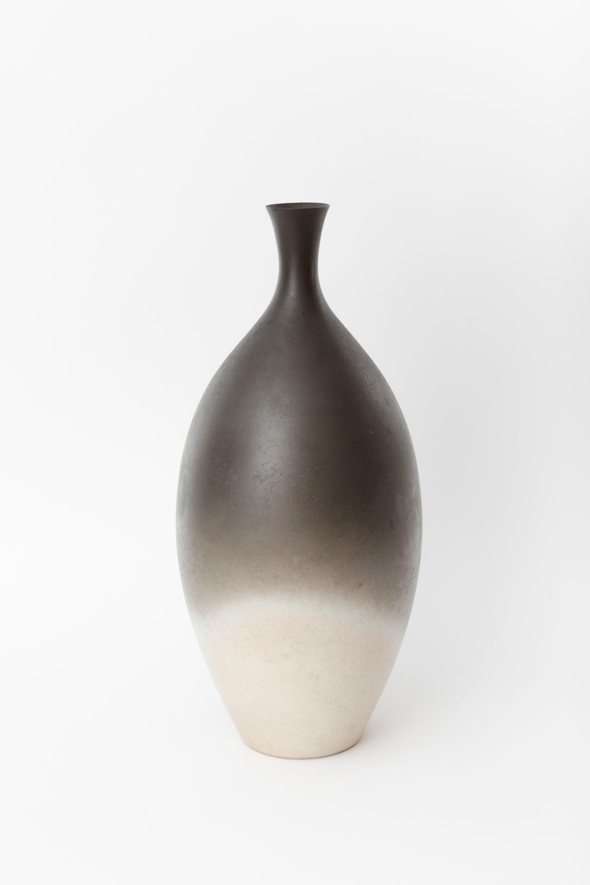 "Flower vase ""Silver crystal"" - 鶴首花器「銀結晶」, 2020"