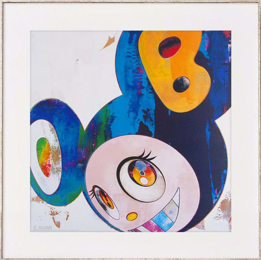 Takashi Murakami, And then, and then , and then (Blue), 2006