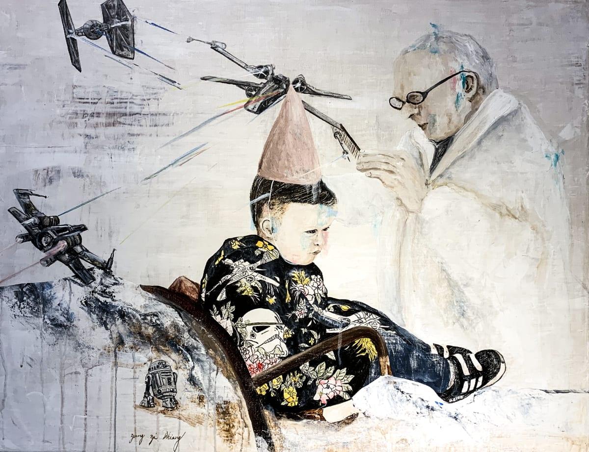 Yang Yi Shiang, Barber Shop, 2018