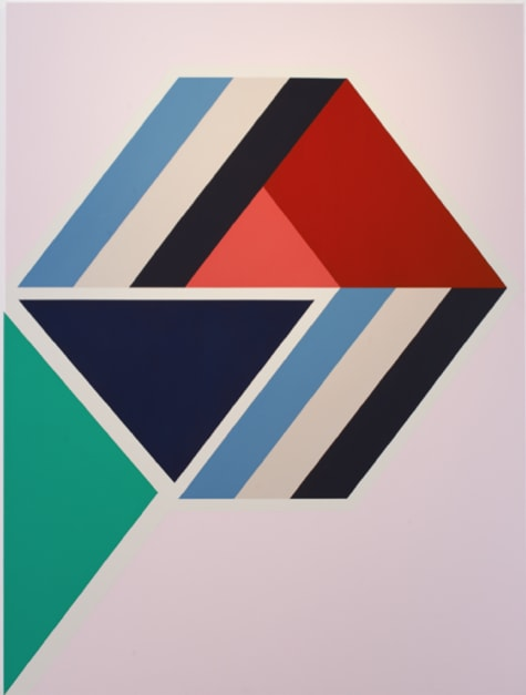 Sinta Tantra, Effervascene in Pink 2014 tempera on canvas 200 x 150