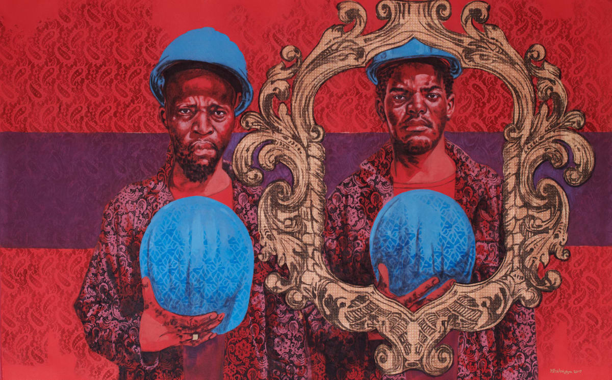 Bambo Sibiya, Paying Tribute II, 2017
