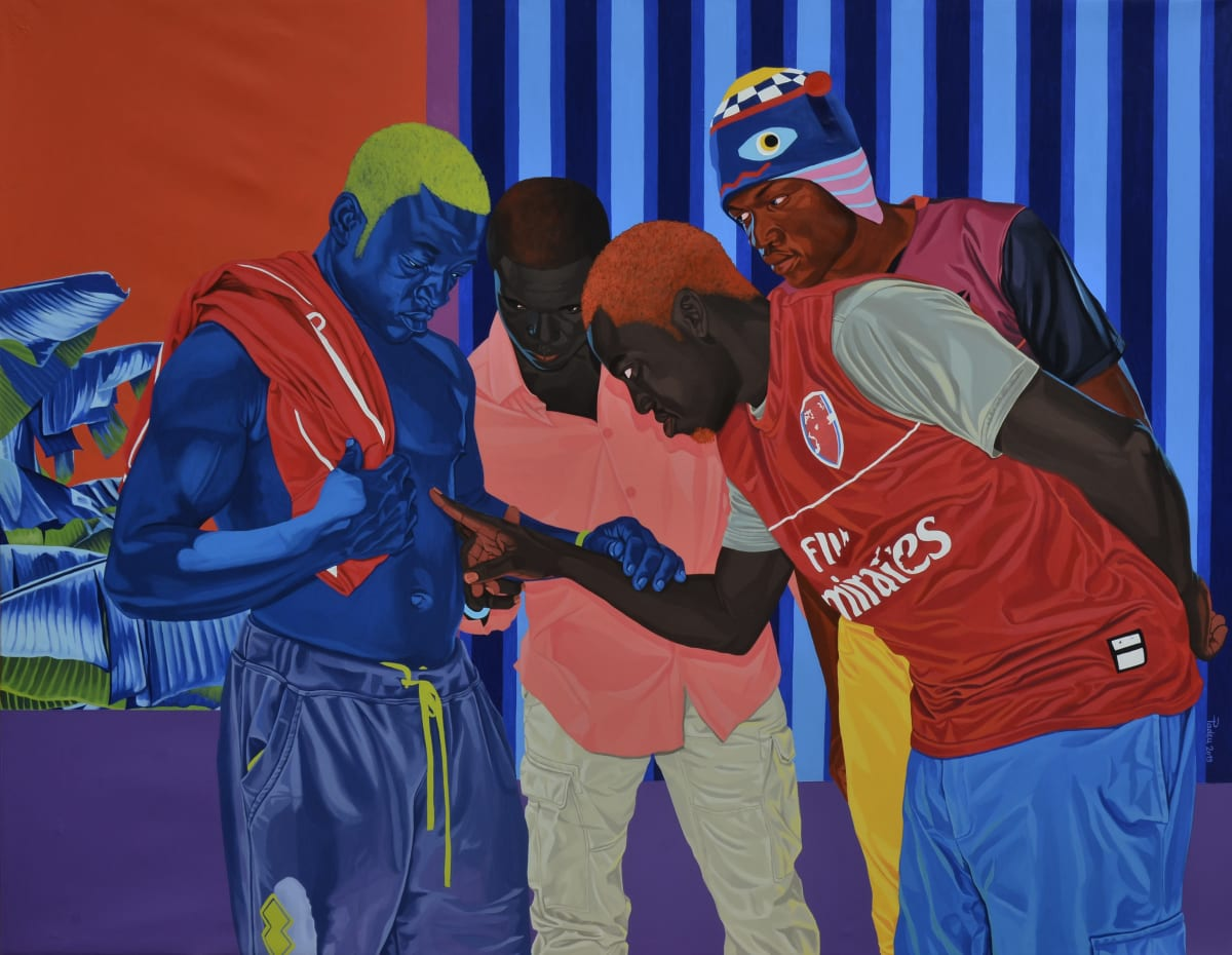 Marc Padeu, The Blue man of Njombé, 2019