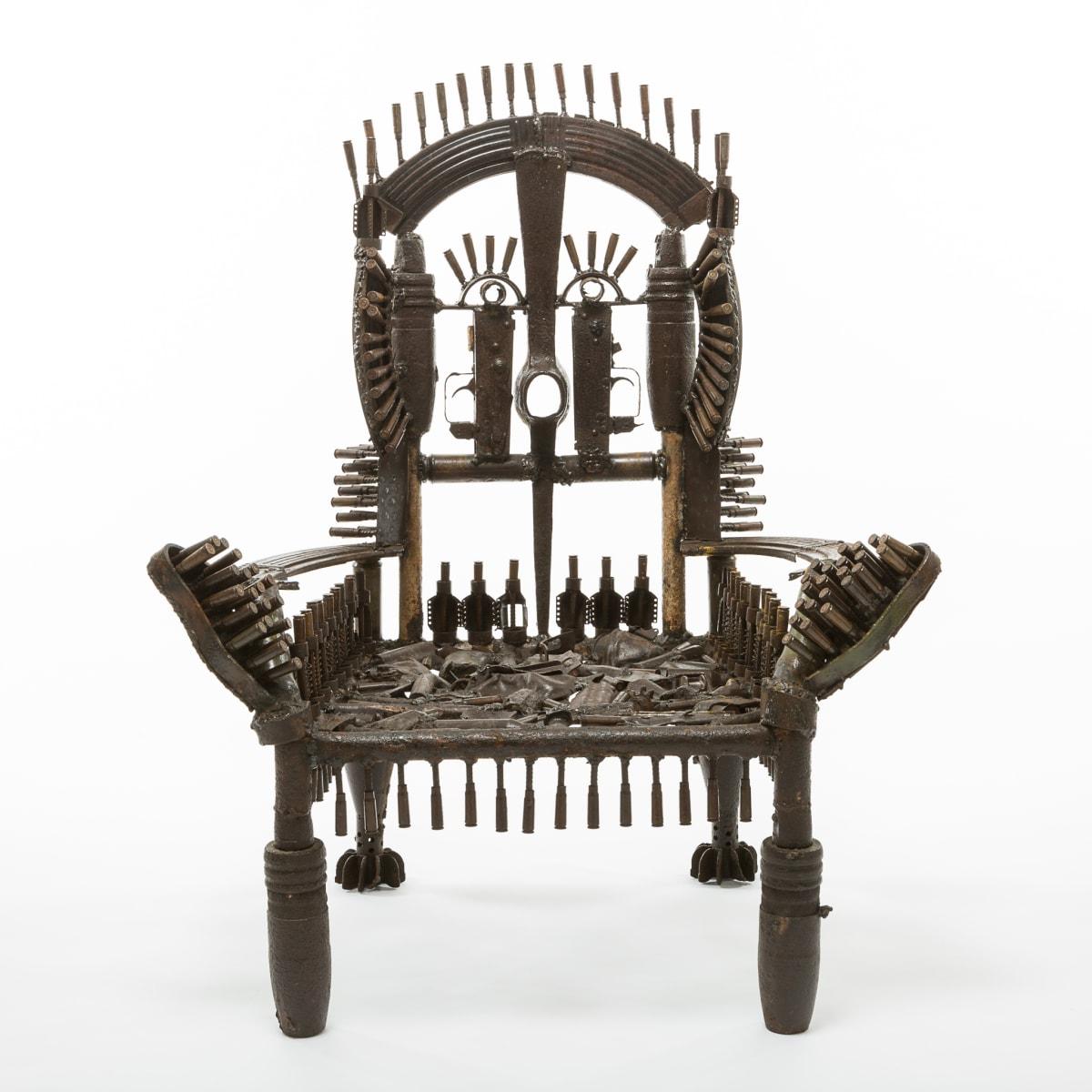 Goncalo Mabunda, The Throne of the Shining Dream, 2016