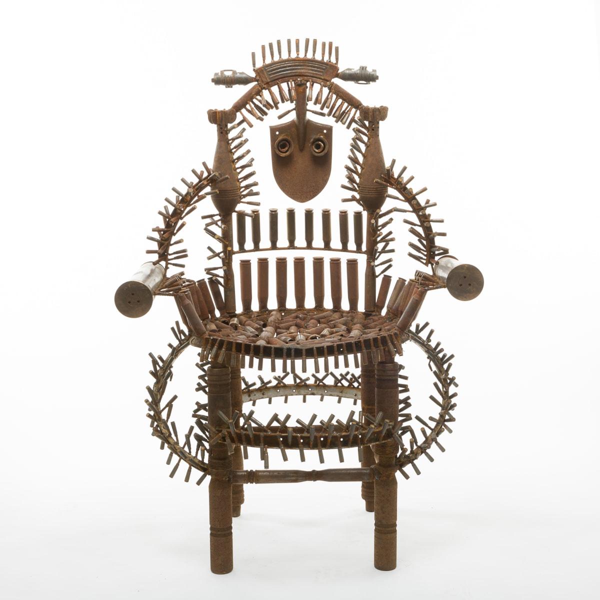 Goncalo Mabunda, The Throne of the World, 2016