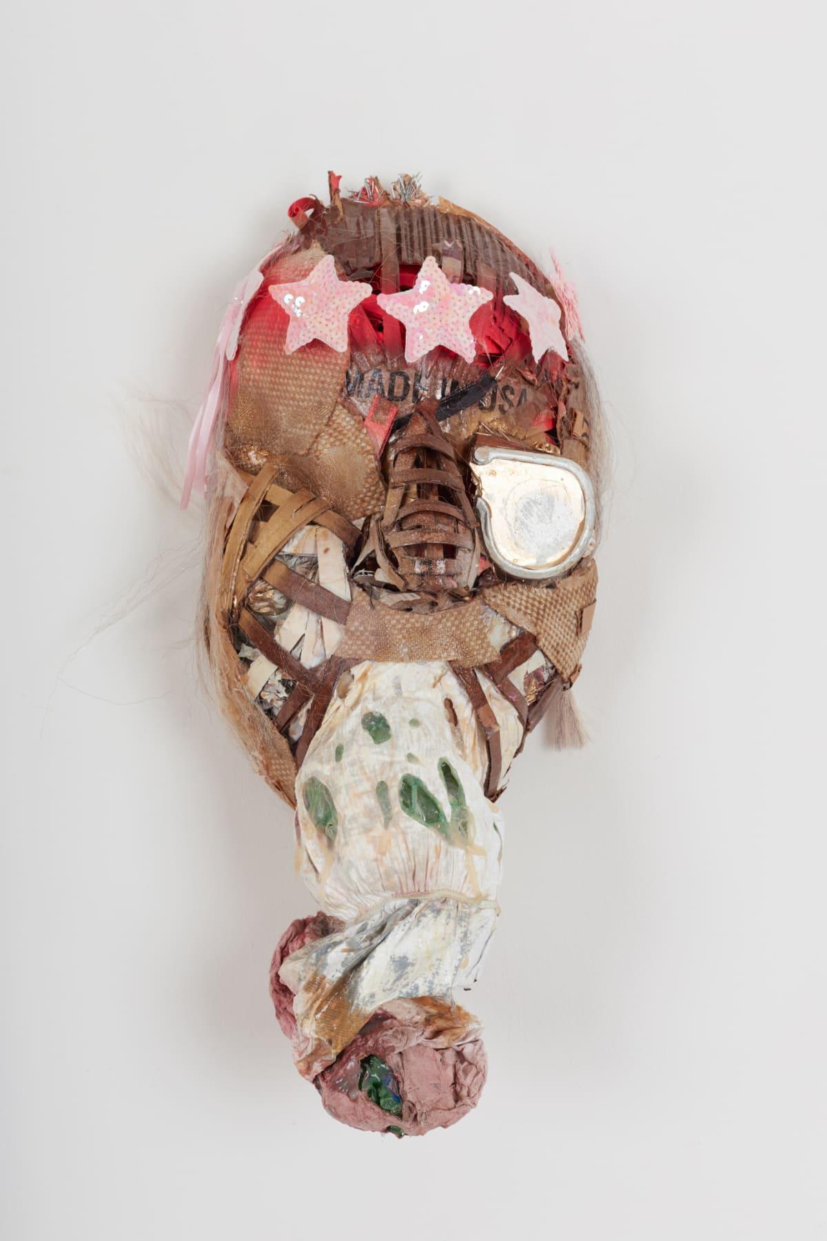 Lavar Munroe, Small Solider War Mask: P.O.W, 2018