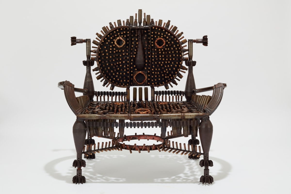 Goncalo Mabunda, The Rooted Throne, 2019