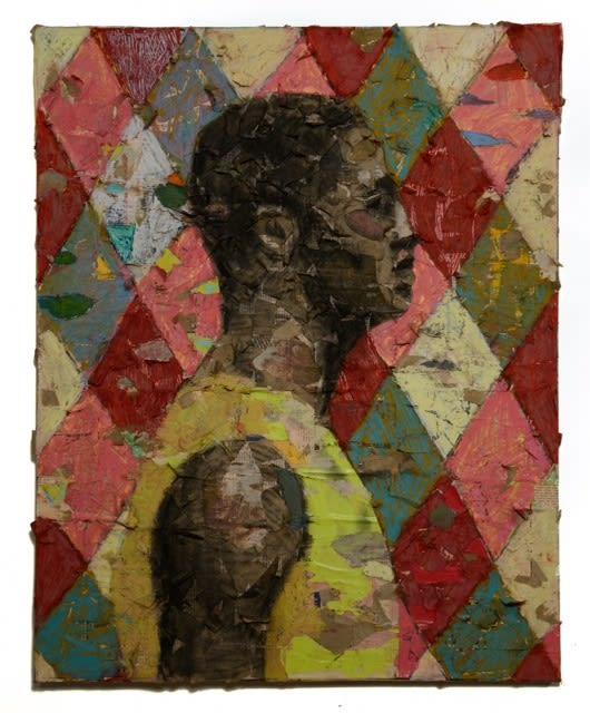Derek Fordjour, No. 16, 2014