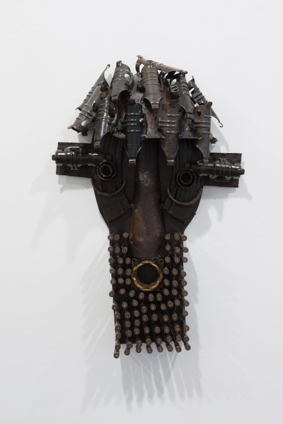 Gonçalo Mabunda, Untitled Mask, 2015