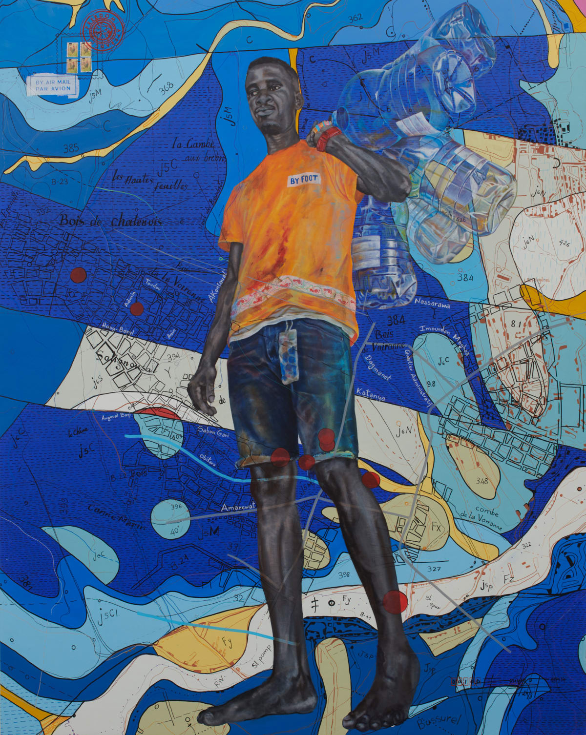 Jean David Nkot, PO. Box. Labyrinthe.com, 2018
