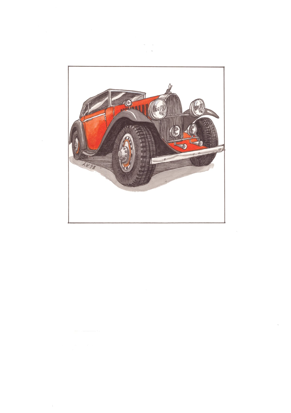 Leonora Venter, Bugatti Type 44, 2018