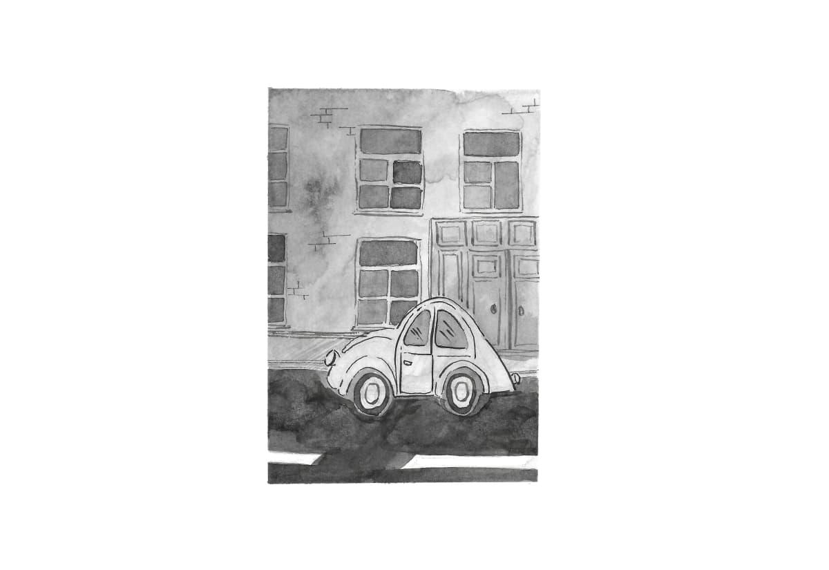 Kleanthi Tselentis, Snippet Of A Street, 2018