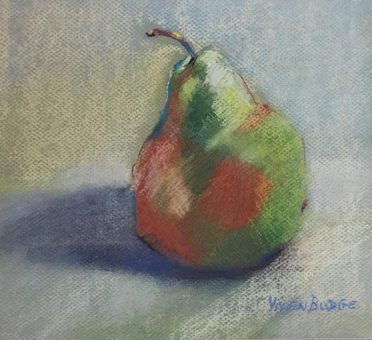 Vivien Budge , Pastel pear, 2018