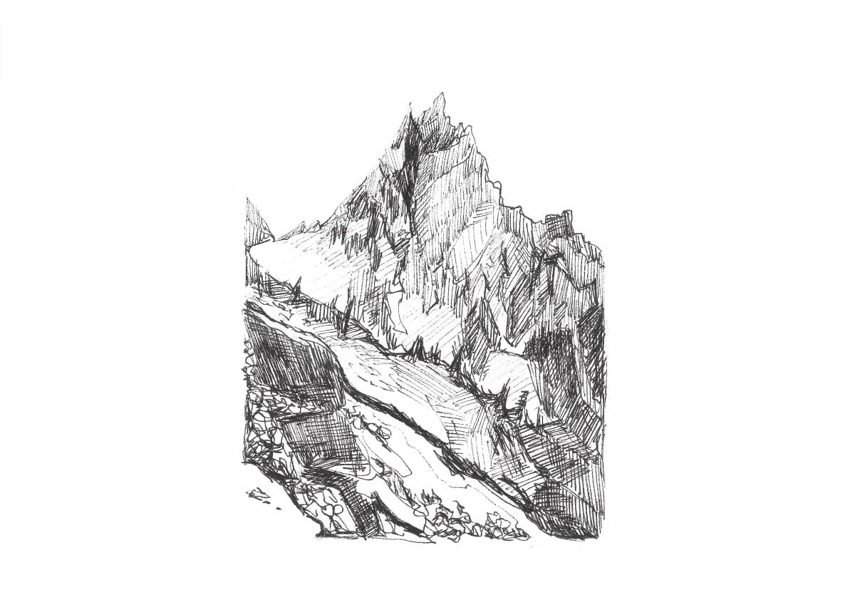Kleanthi Tselentis, Mountain Gesture, 2018