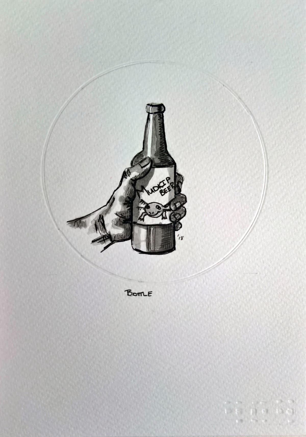 404, Bottle (B), 2018