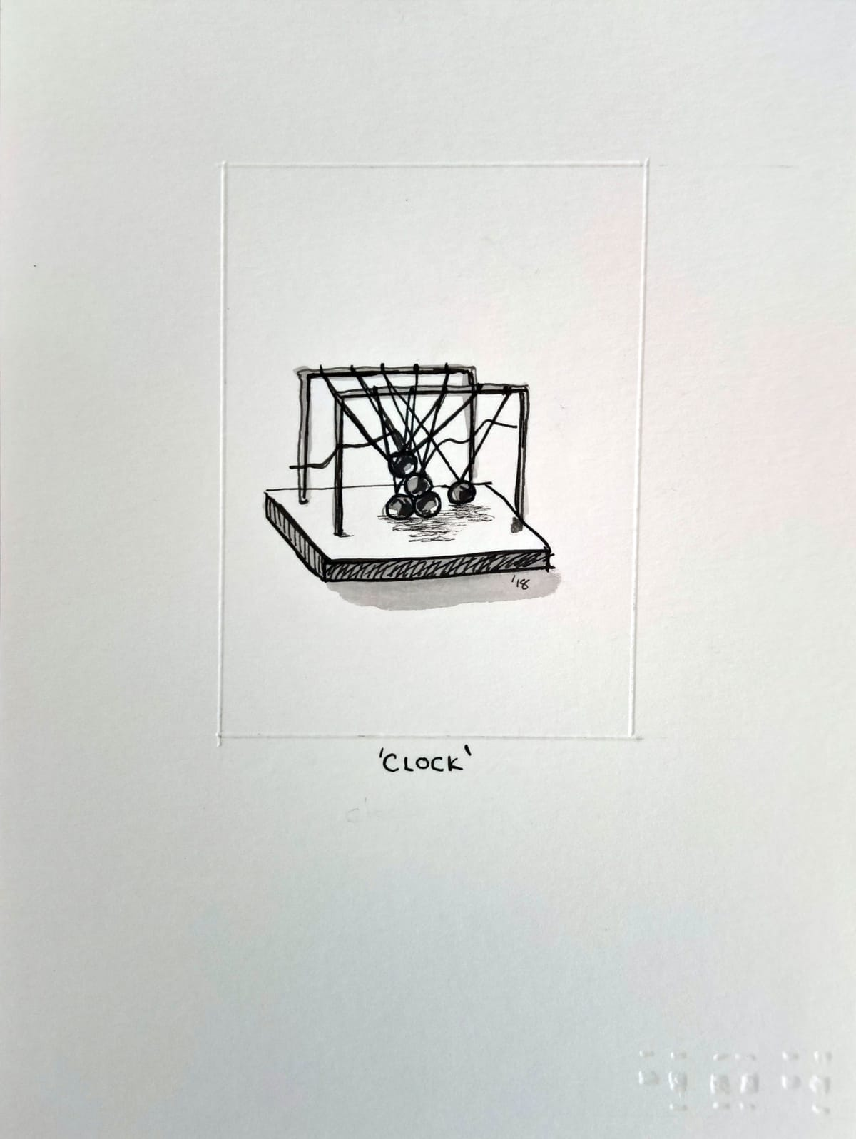 404, Clock (A), 2018