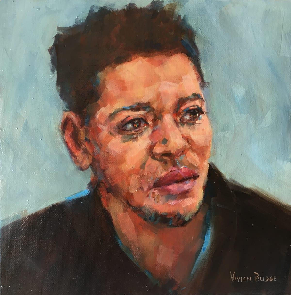 Vivien Budge , Untitled portrait 2, 2018