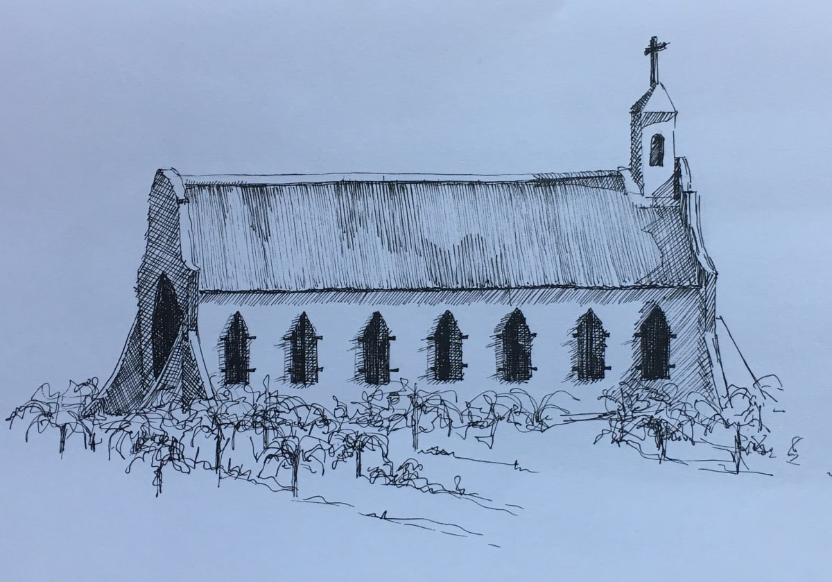 Vivien Budge , Chapel at montpelier tulbagh, 2018