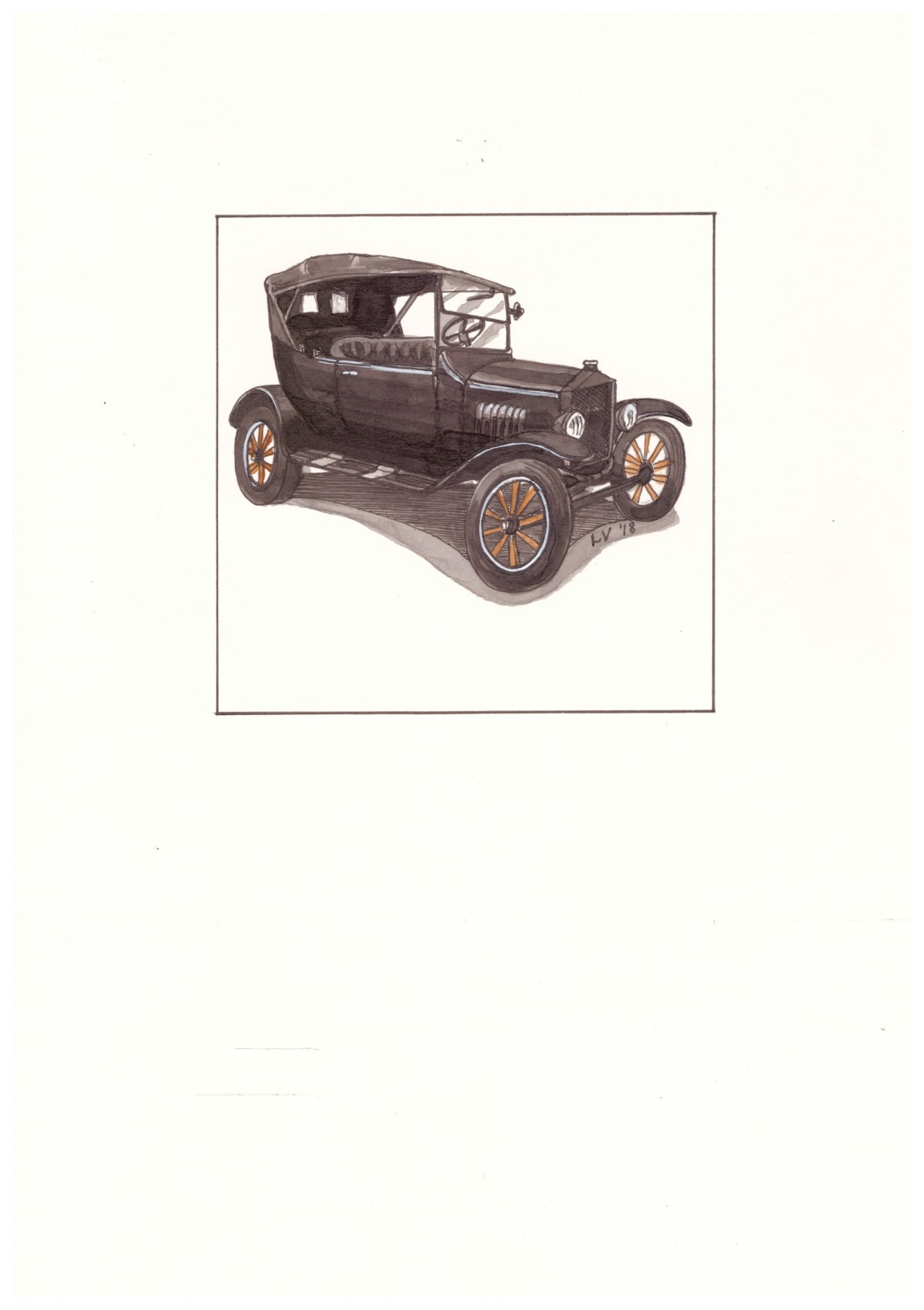 Leonora Venter, Ford Model T 1923, 2018