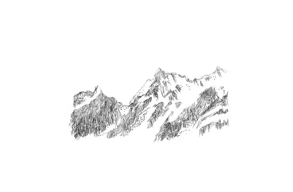 Kleanthi Tselentis, Mountainscape 01, 2018