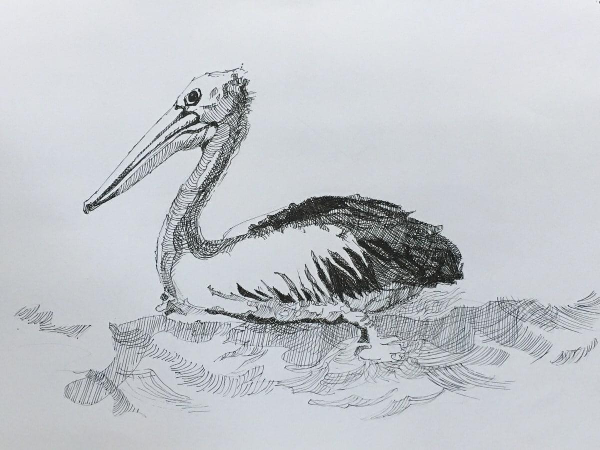 Vivien Budge , Pelican, 2018