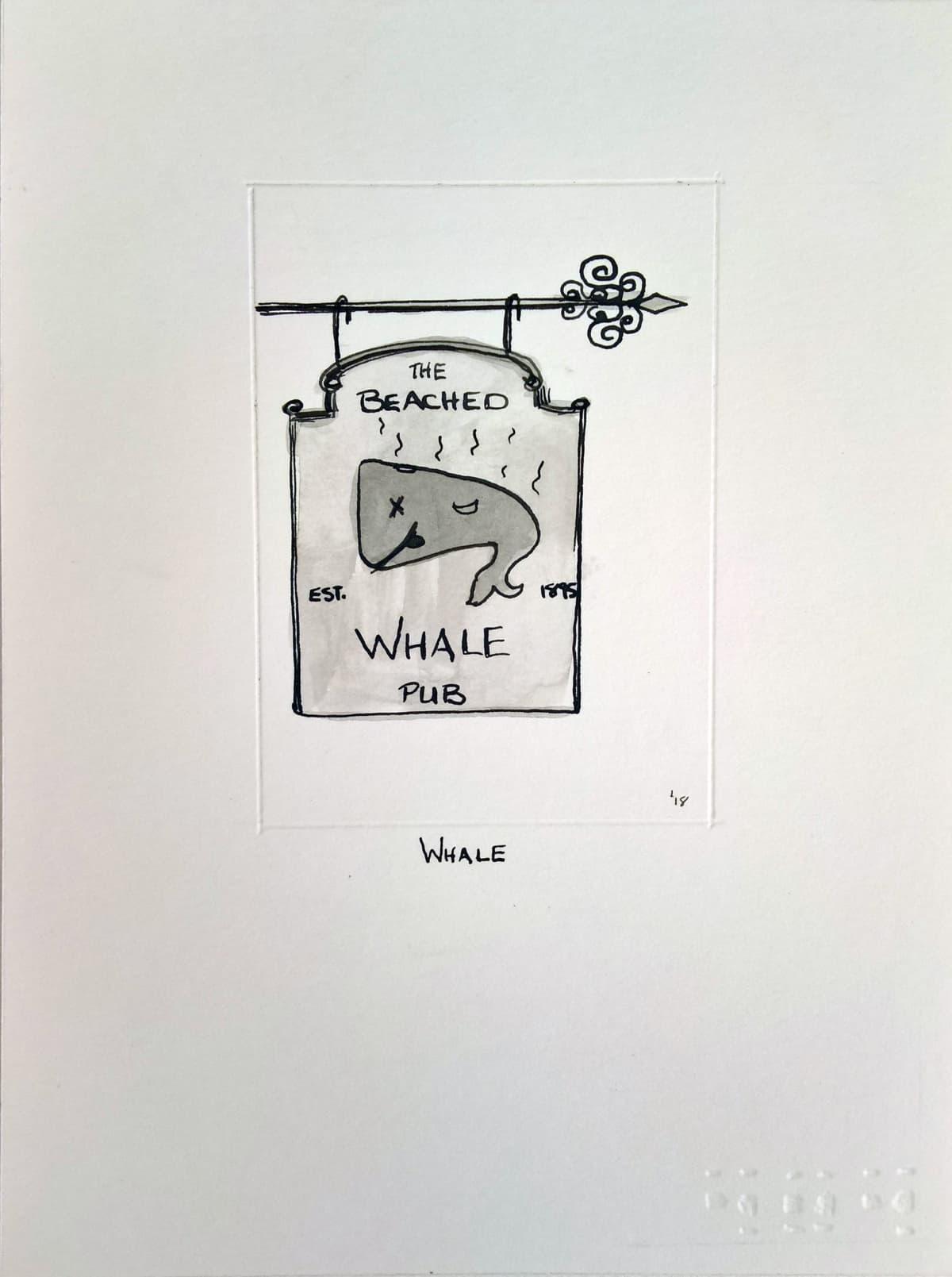 404, Whale (A), 2018