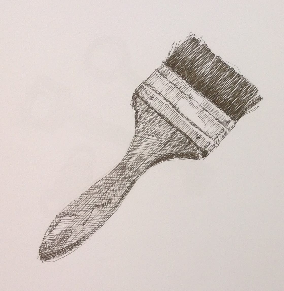 Vivien Budge , Paintbrush, 2018