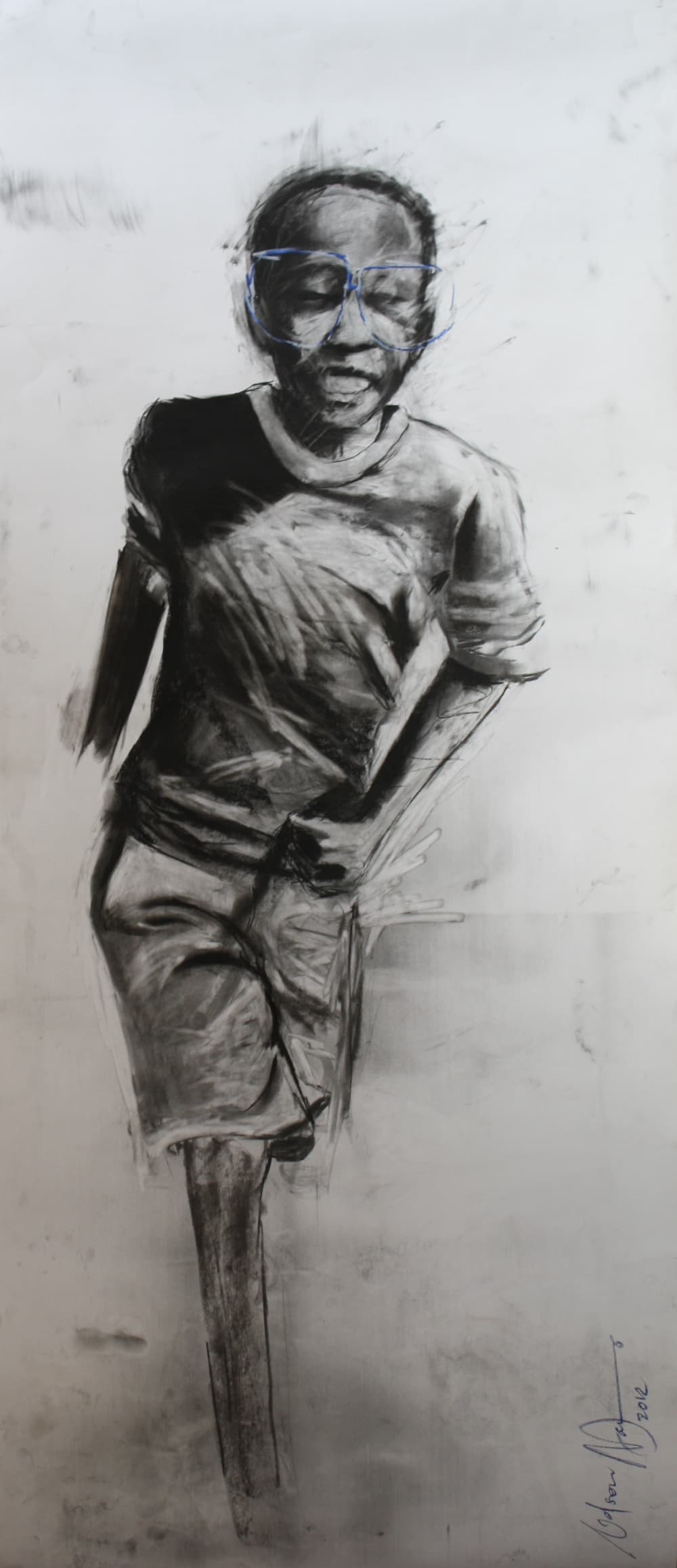 Nelson Makamo, Running Through The Street And All I Hear Is The Same Talk, 2012