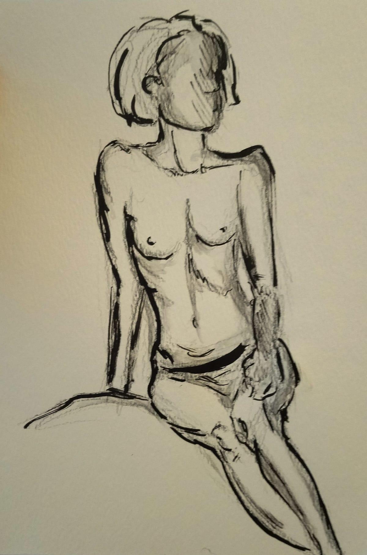 Loreal Vos, Life Drawing II, 2018