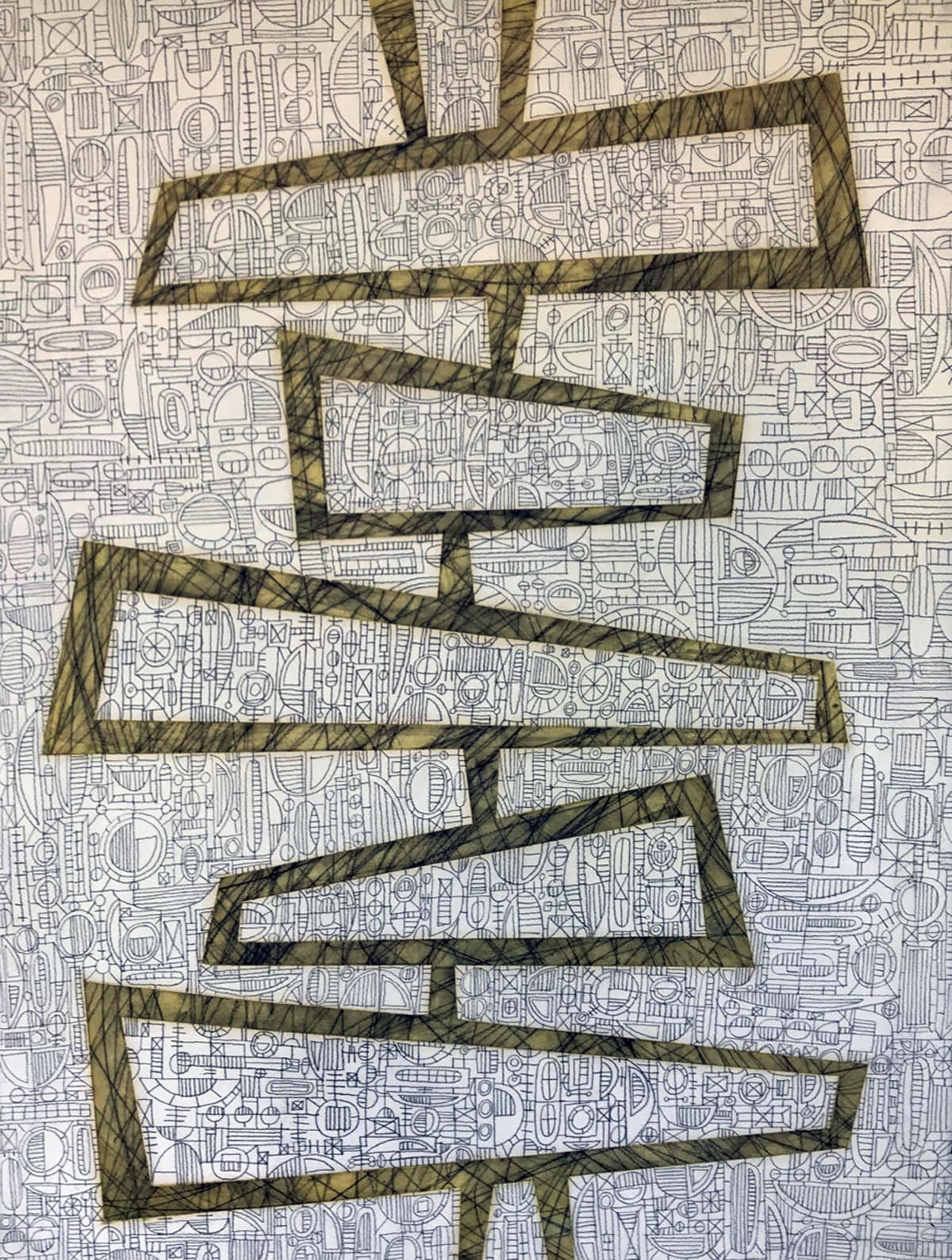 Moya Aiken, Stacked One, 2018