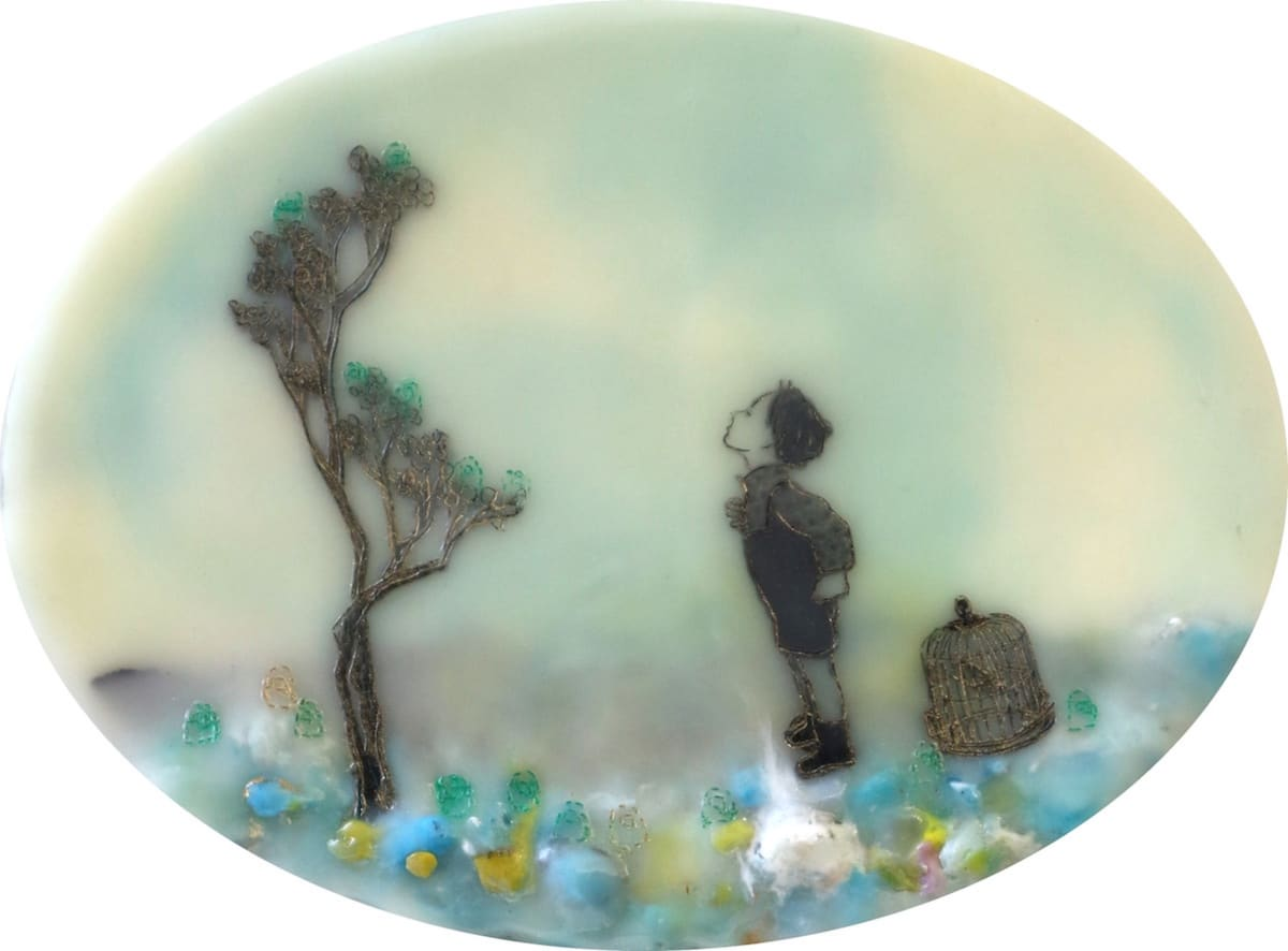 Cecile Chong, Caged In, 2018
