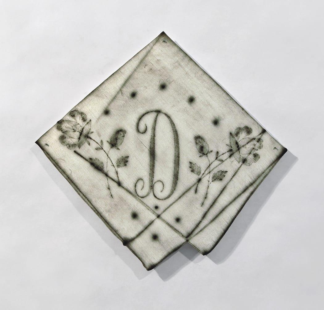 Susanna Starr, Folded Monogram D, 2019