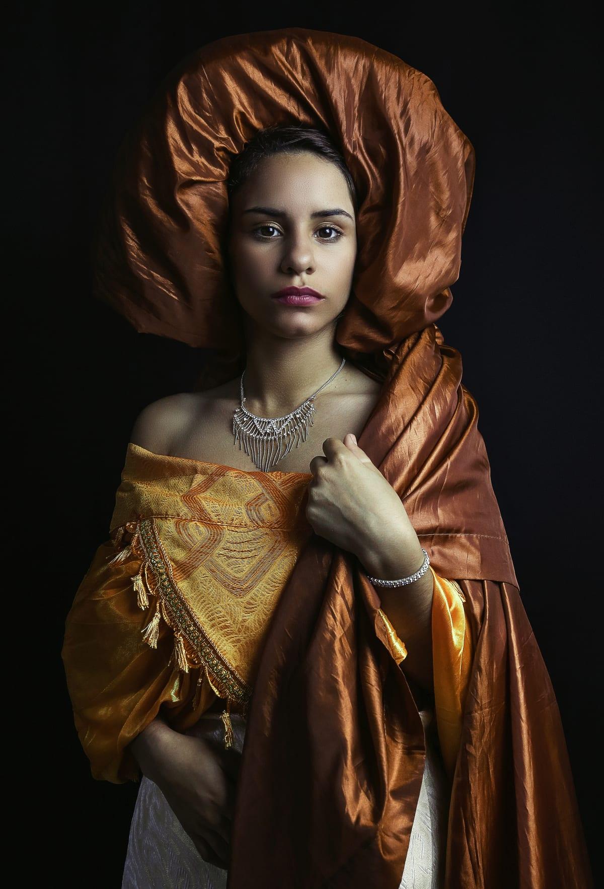 Carlos Gamez de Francisco, Portrait of a Lady, 2018