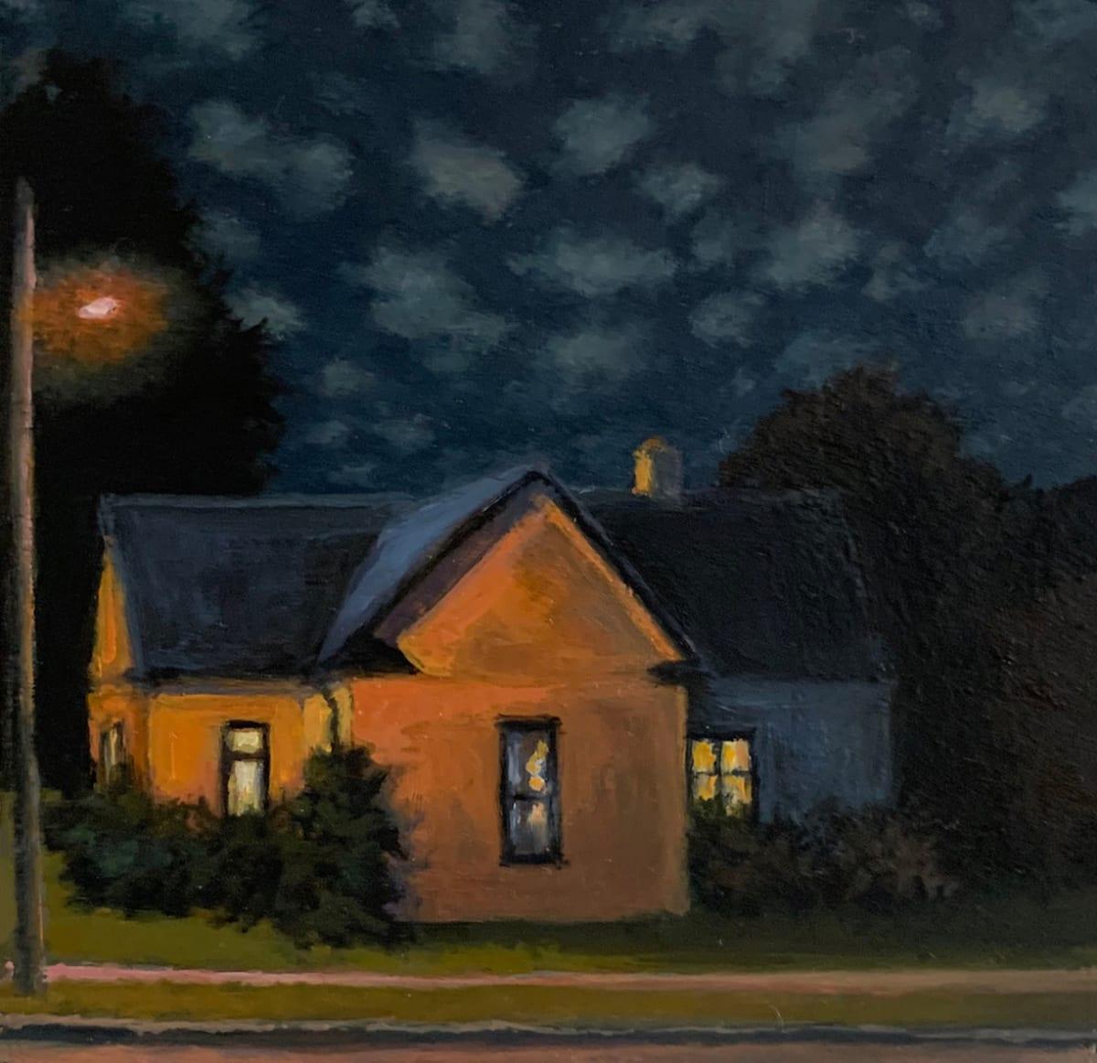 Sally Maca, Altocumulus at Night, 2019