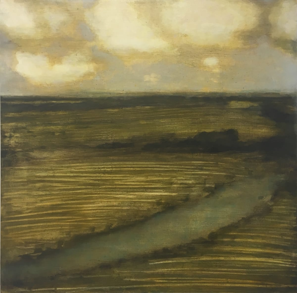 David Konigsberg, Field (with Creek), 2019