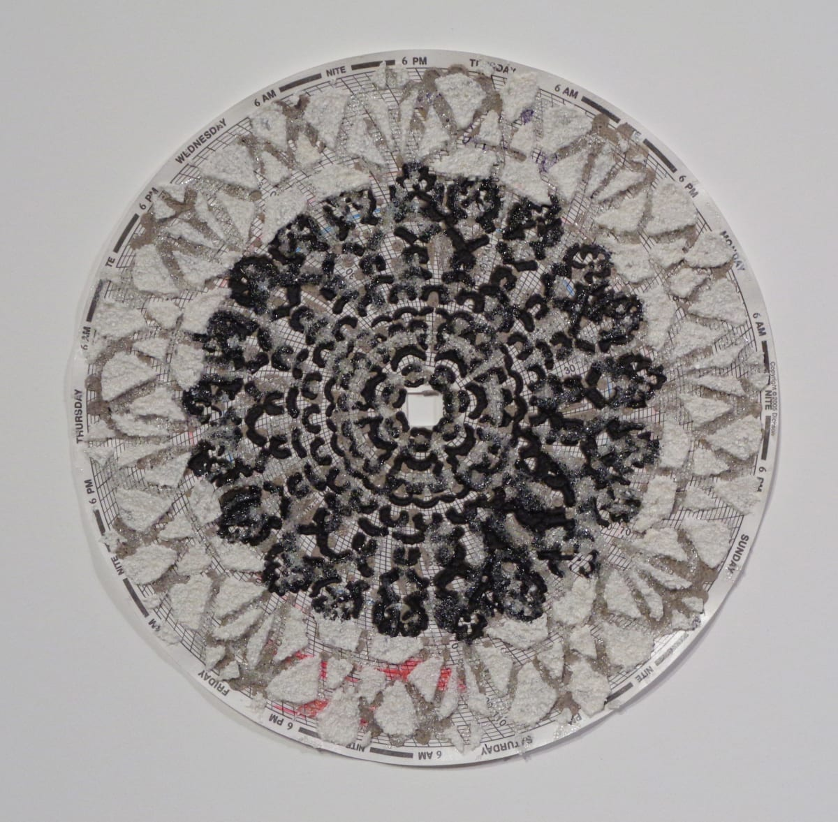 Eleanor White, Graph Mandala 003, 2018