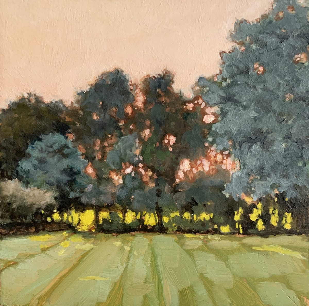 Sally Maca, Through the Hedges, 2019