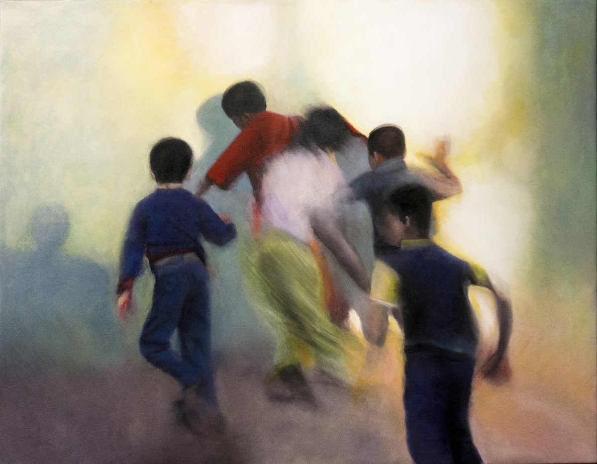Domenico Pasqua, Children of Mount Abu, 2019