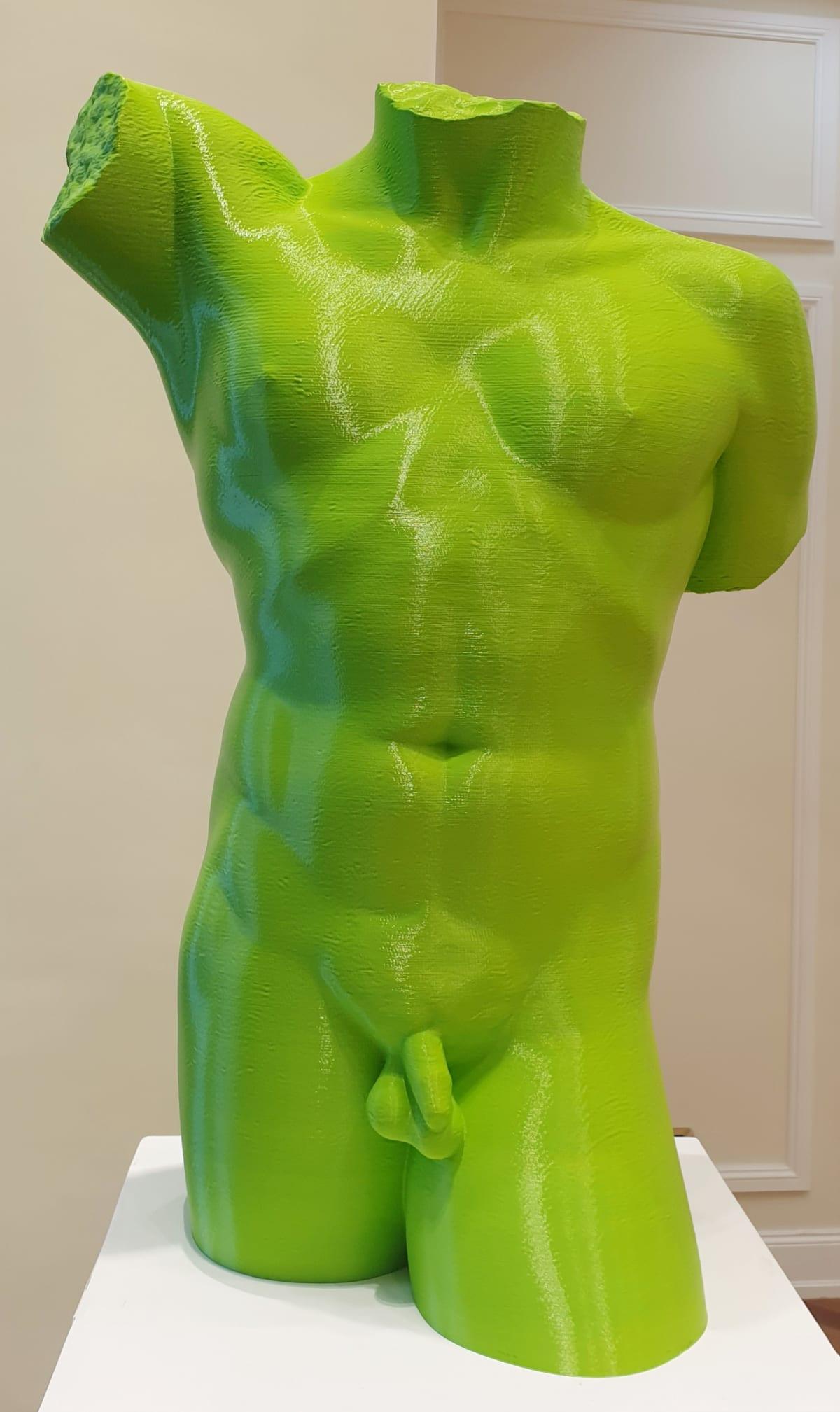 ArtFicial Clones, Bust of Man, 2020
