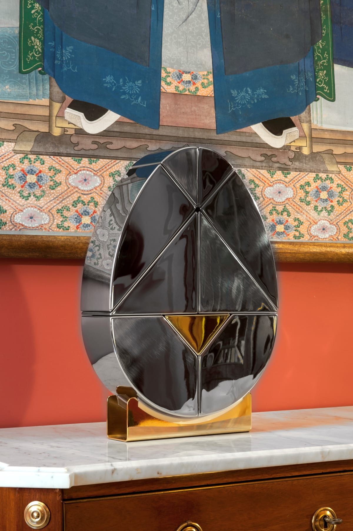 Ab Ovo Egg (Steel - M), 2019