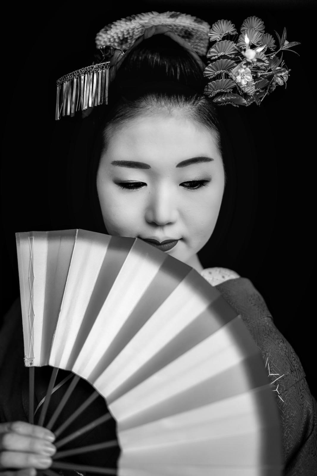 A portrait of Maiko, 2019
