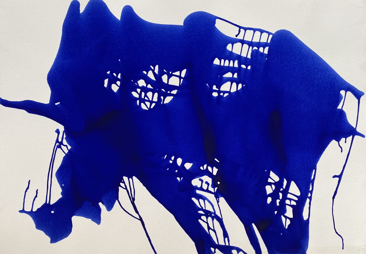 Terence Donovan Abstract 13 acrylic on paper 77 x 110cm