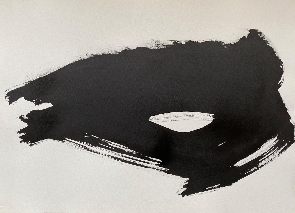 Terence Donovan Abstract 12 acrylic on paper 77 x 110cm