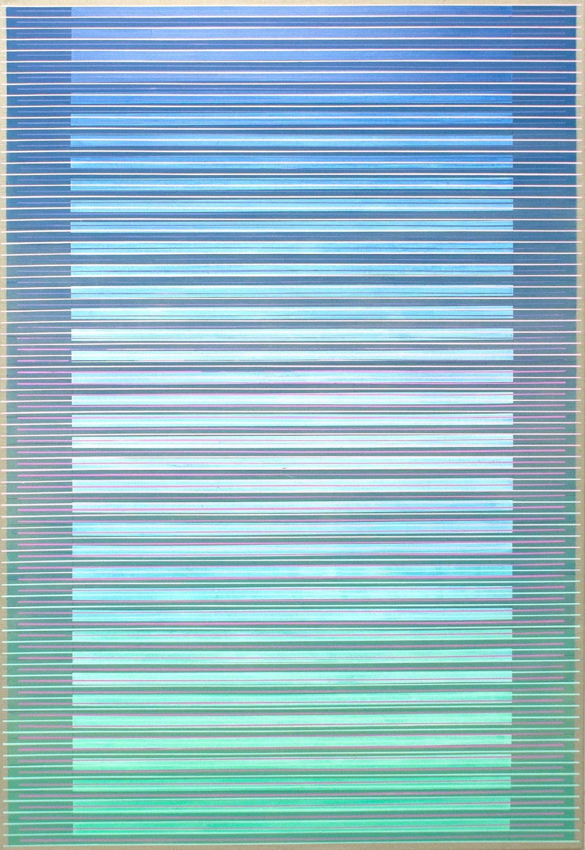 Daniel Mullen Intervening Horizons, 2017 acrylic on canvas 160 x 100 cm 63 x 39 3/8 in