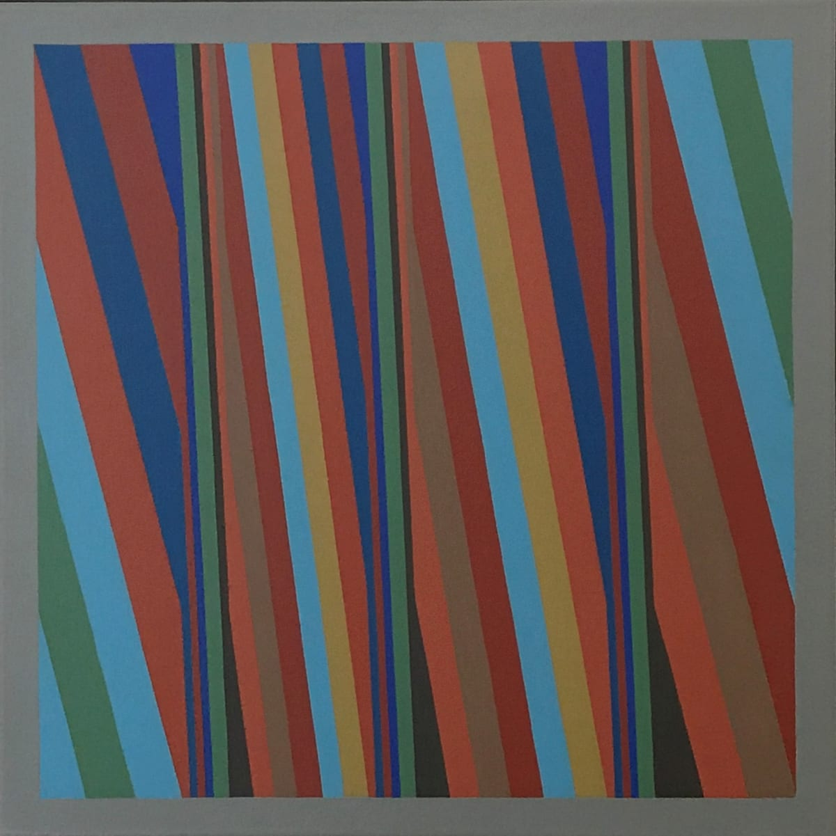 ROY OSBORNE Bends 71, 2010 oil on canvas 51 x 51 cm 20 1/8 x 20 1/8 in signed and dated